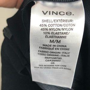 Vince Pants - Vince Stitch Front Seam Ponte Leggings